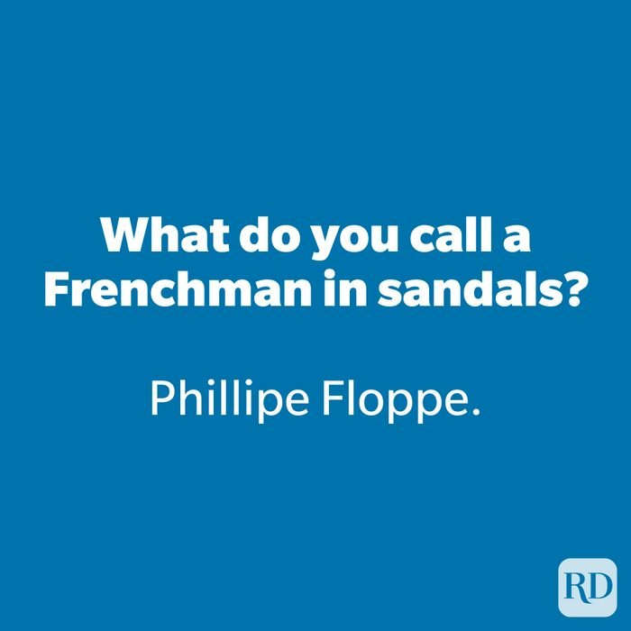 What do you call a Frenchman in sandals?