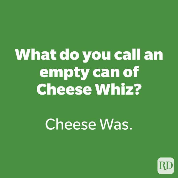 What do you call an empty can of Cheese Whiz?