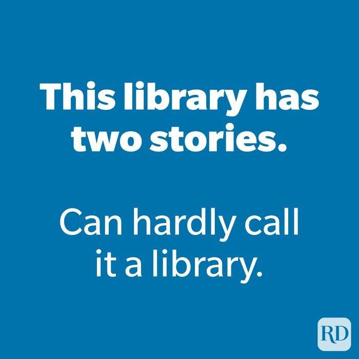 This library has two stories.