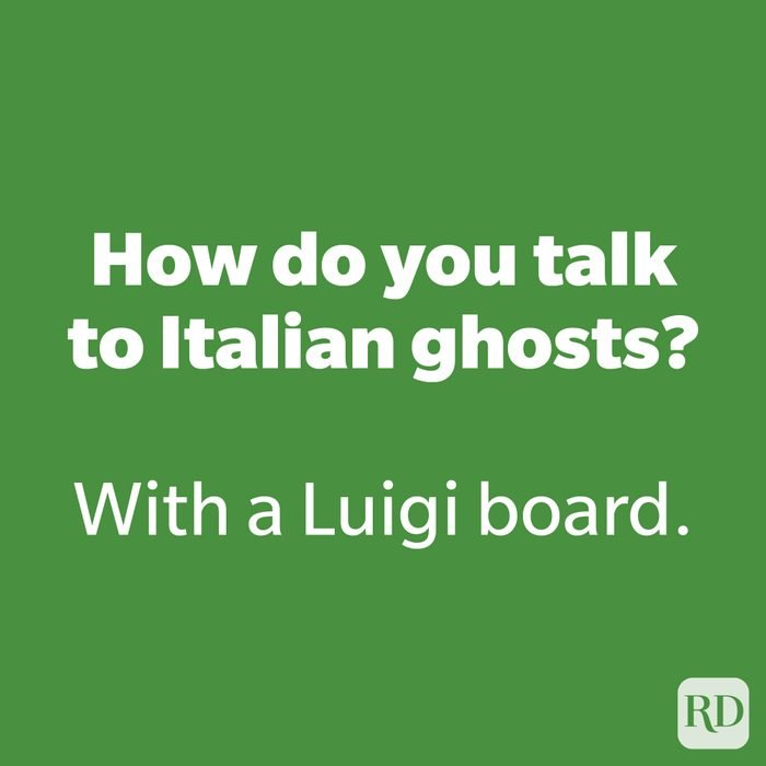 How do you talk to Italian ghosts?