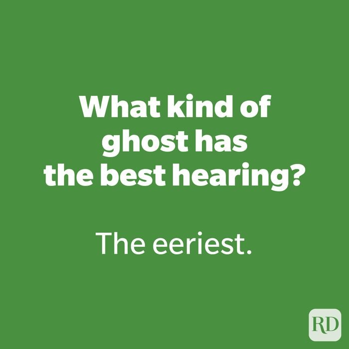 What kind of ghost has the best hearing?