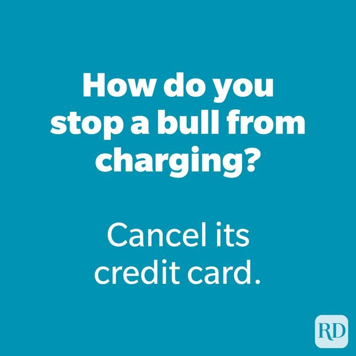 How do you stop a bull from charging?