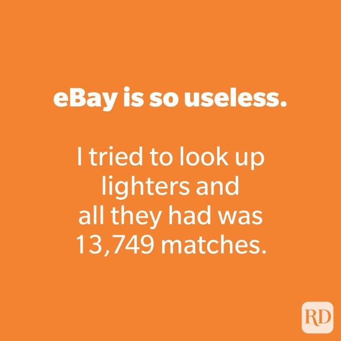 eBay is so useless.