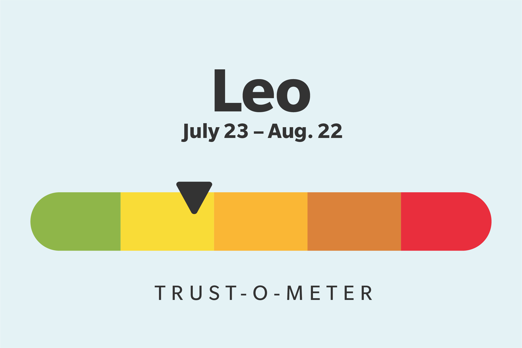 Leo (July 23–August 22)