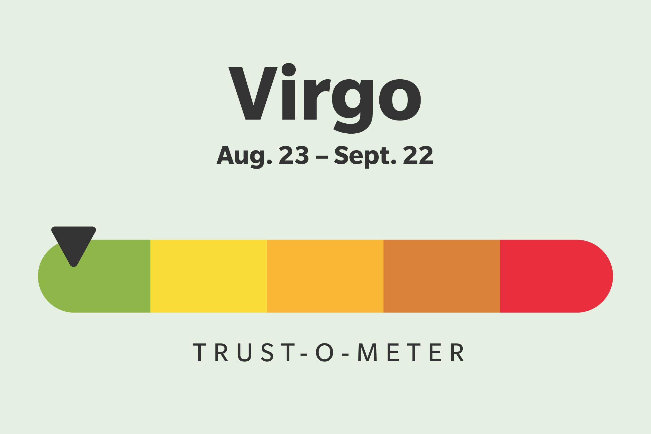 Virgo (August 23–September 22)