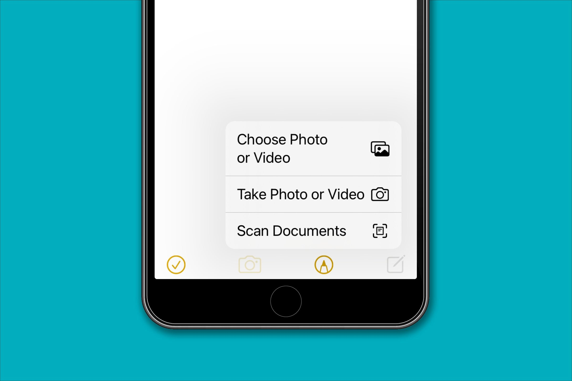 Use your iPhone as a scanner