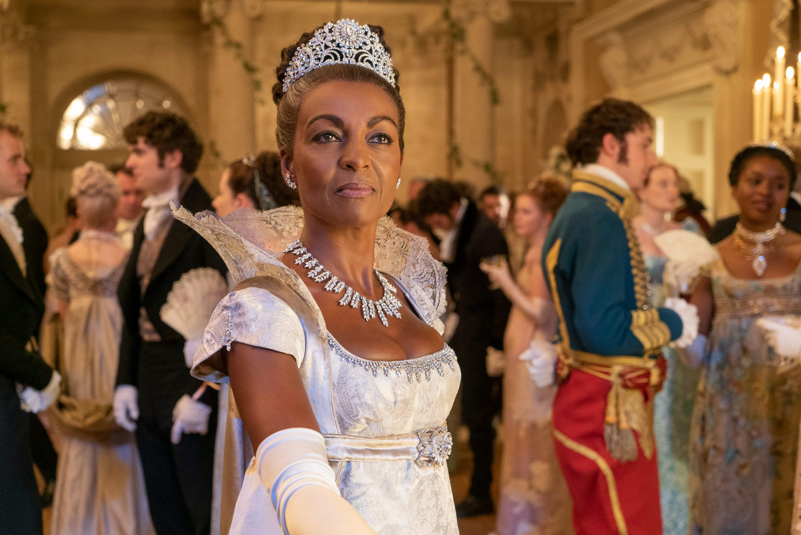 Lady Danbury in the Netflix show, Bridgerton