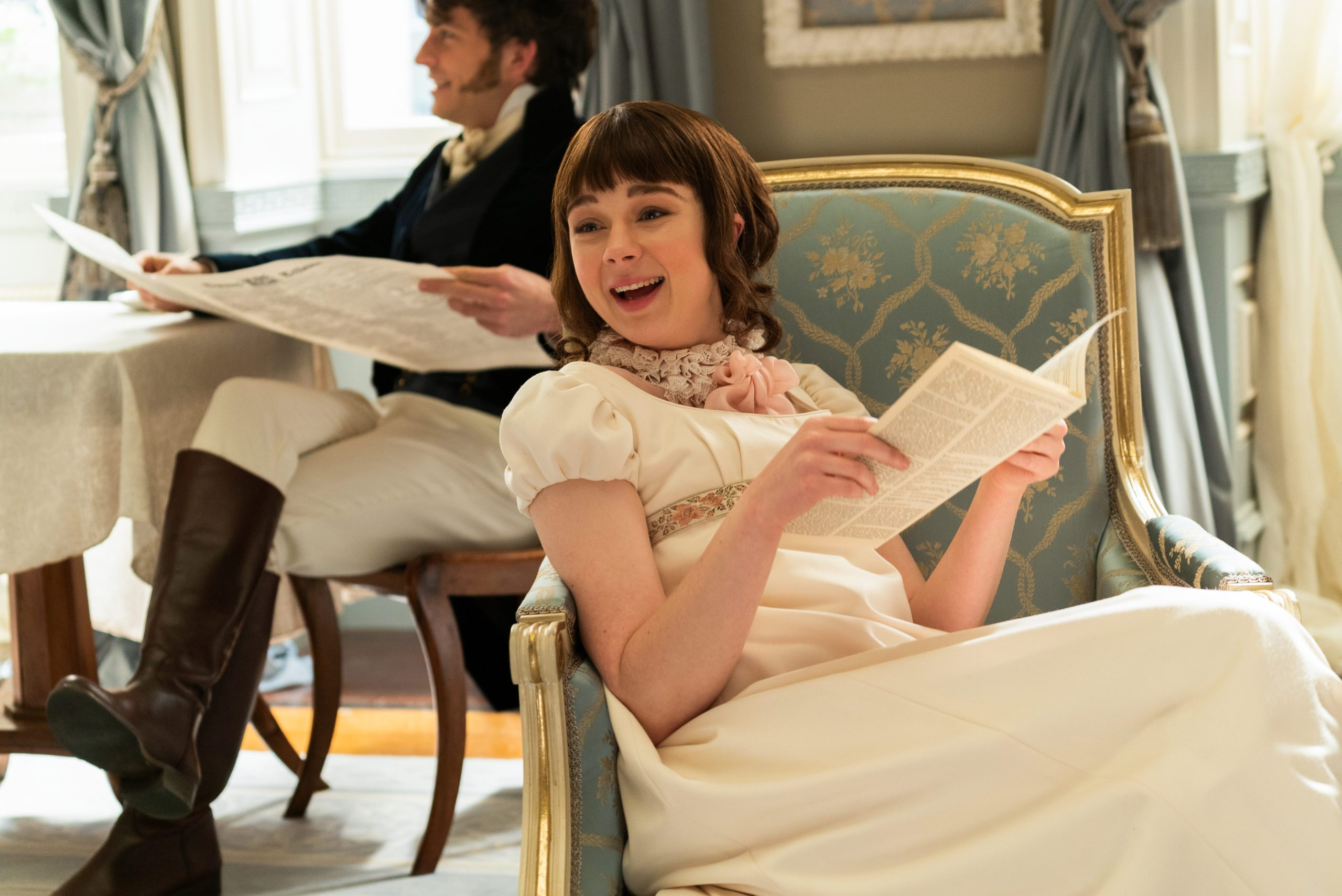 Eloise Bridgerton in the Netflix show, Bridgerton