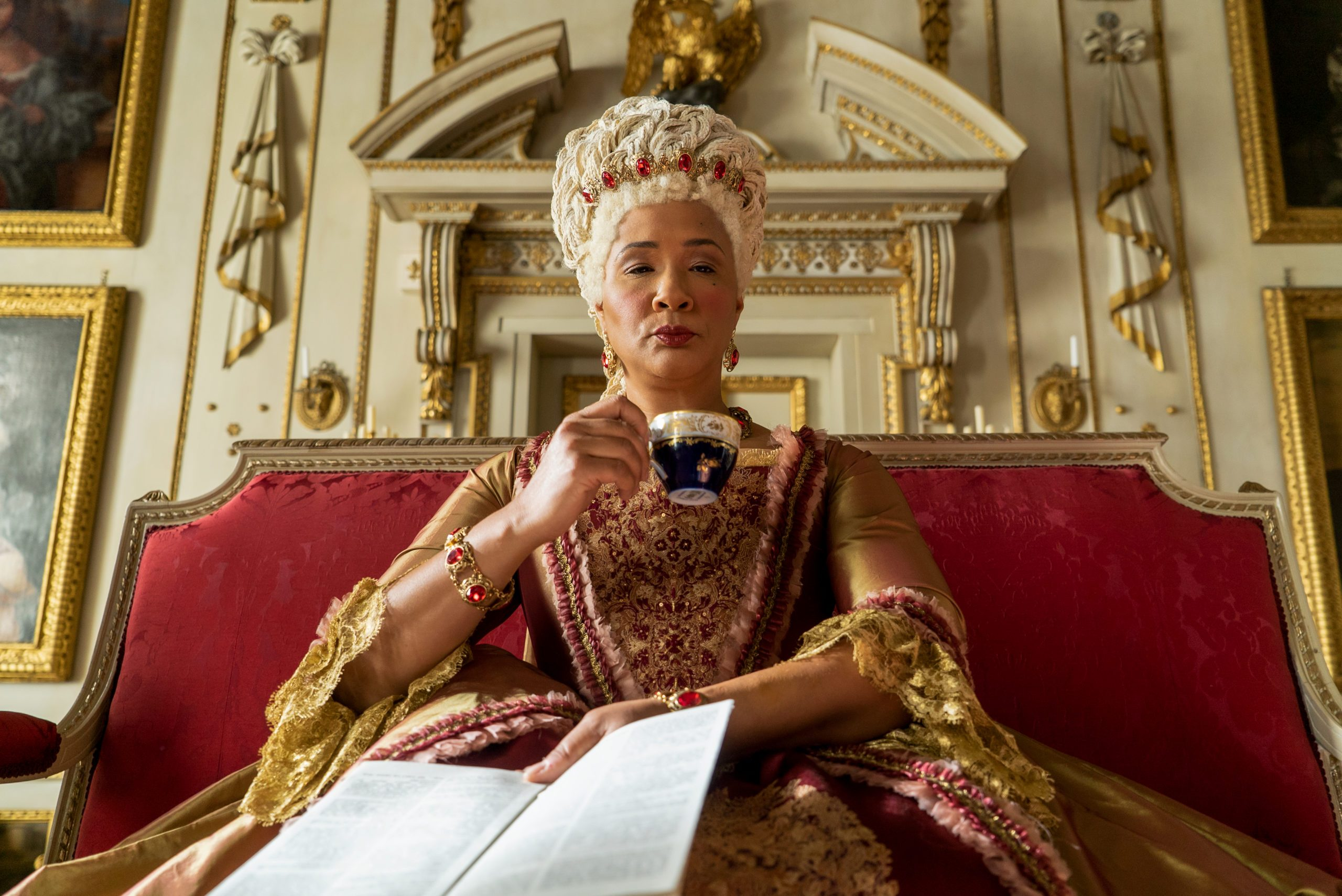 Queen Charlotte in the Netflix show, Bridgerton