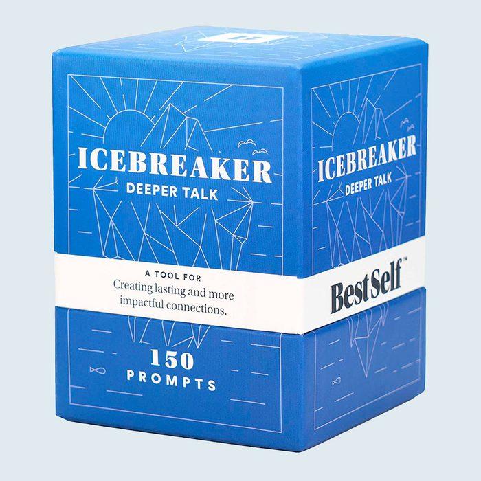 Bestself Co. Conversation Starter Icebreaker Deck Via Amazon
