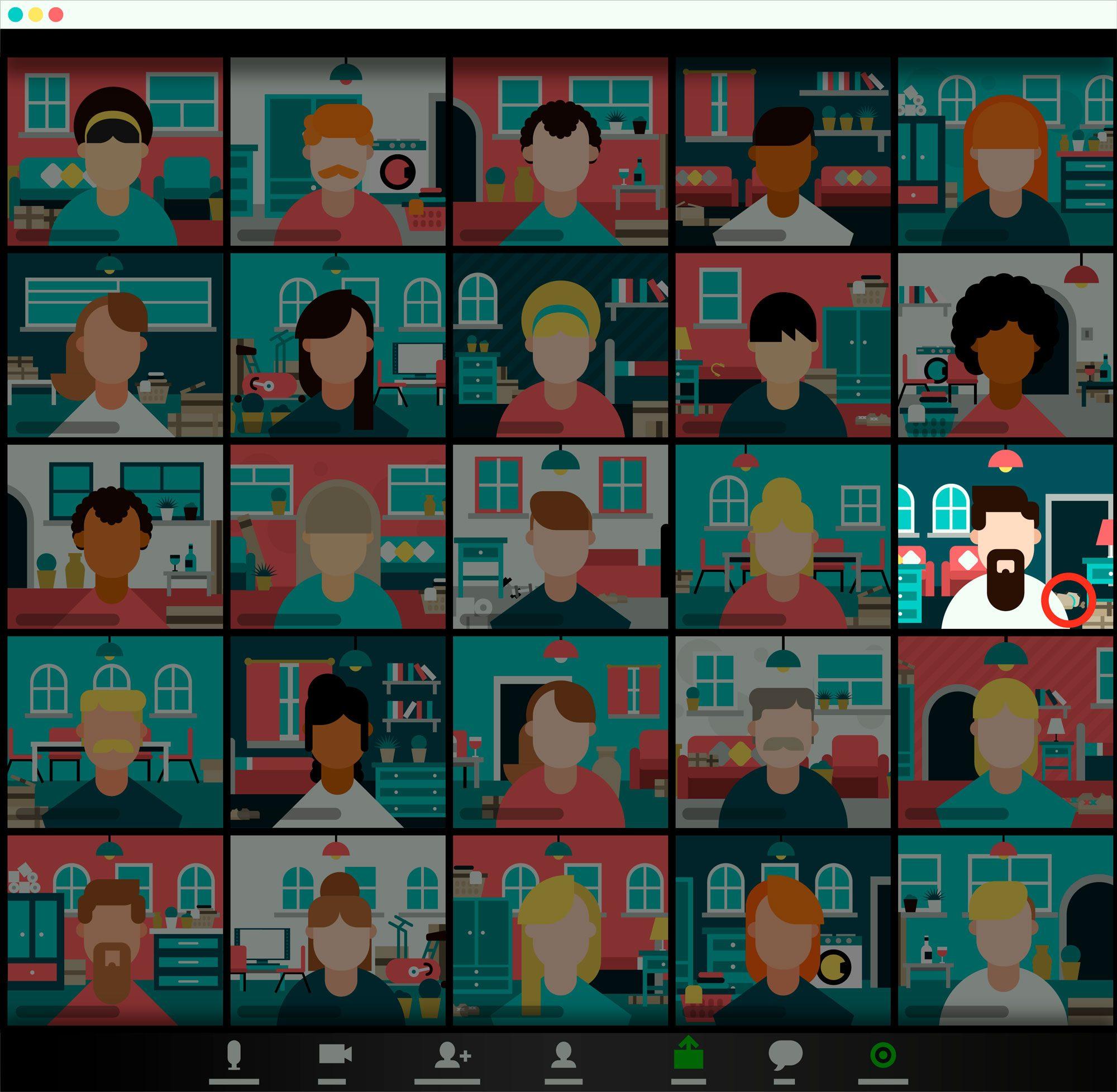 Zoom Illustration Brainteaser Answer Courtesy Slotswise
