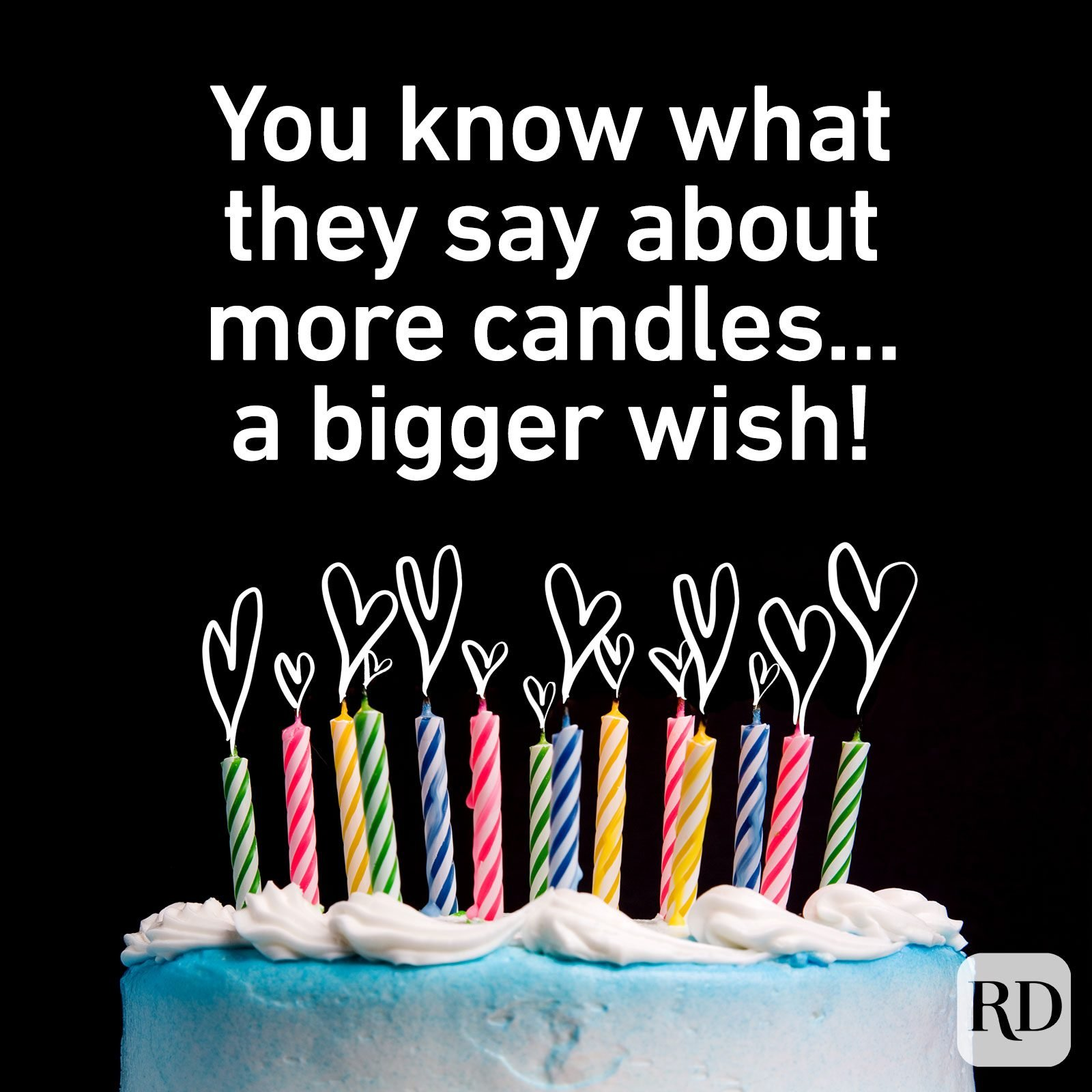 You know what they say about more candles...a bigger wish!