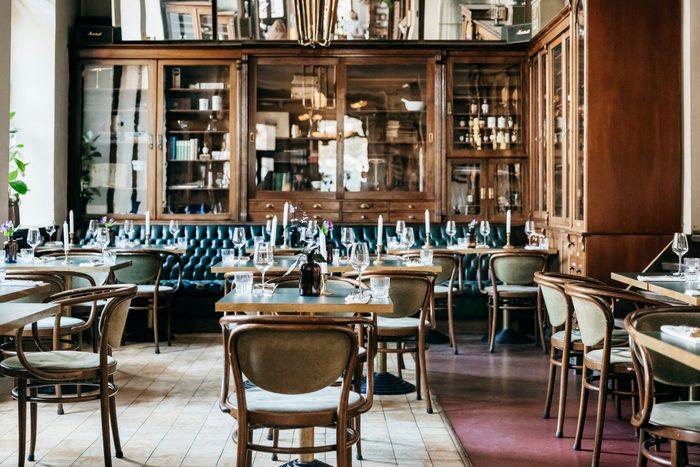 An Empty Luxurious Restaurant