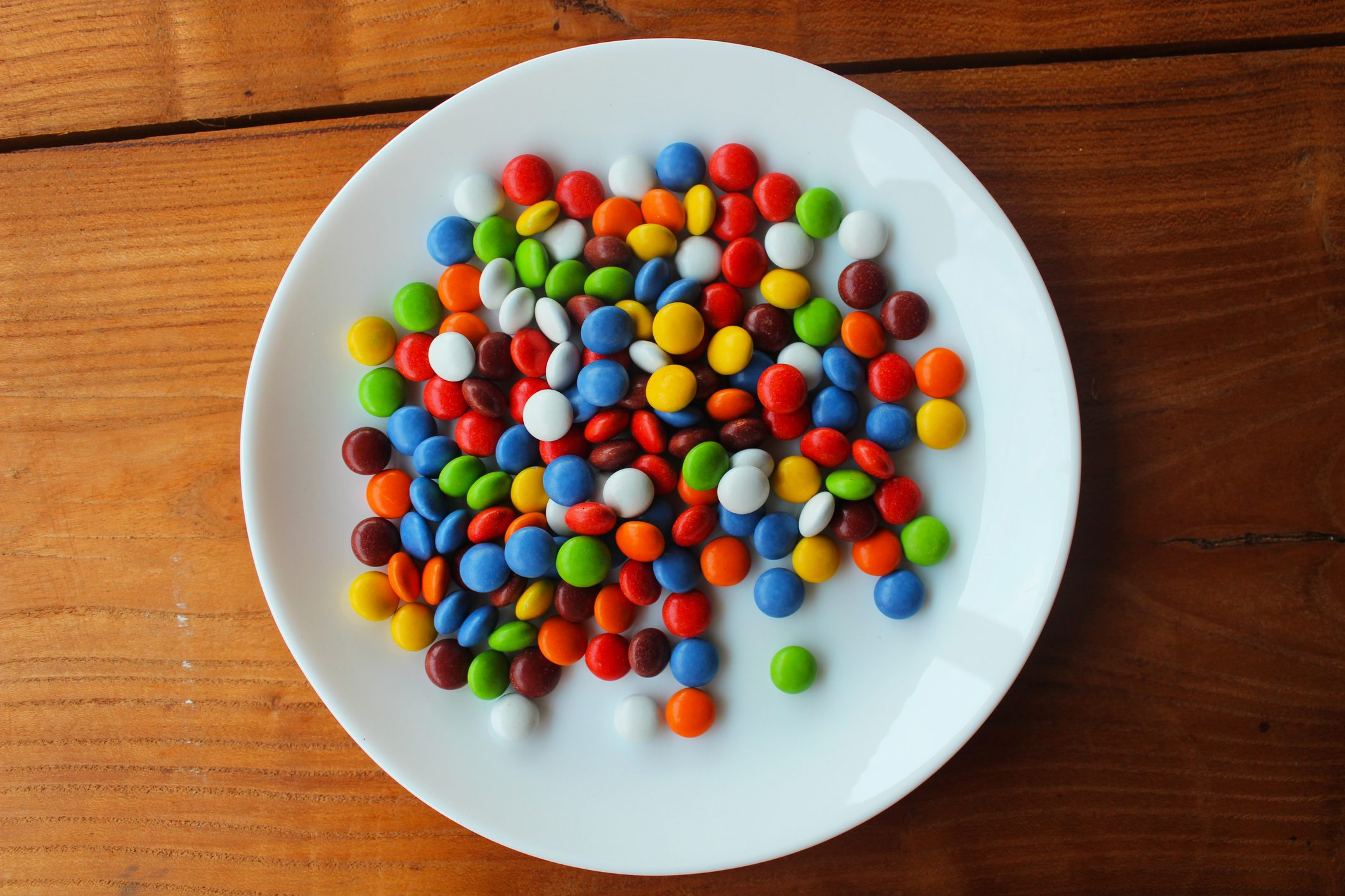 multicolored candy