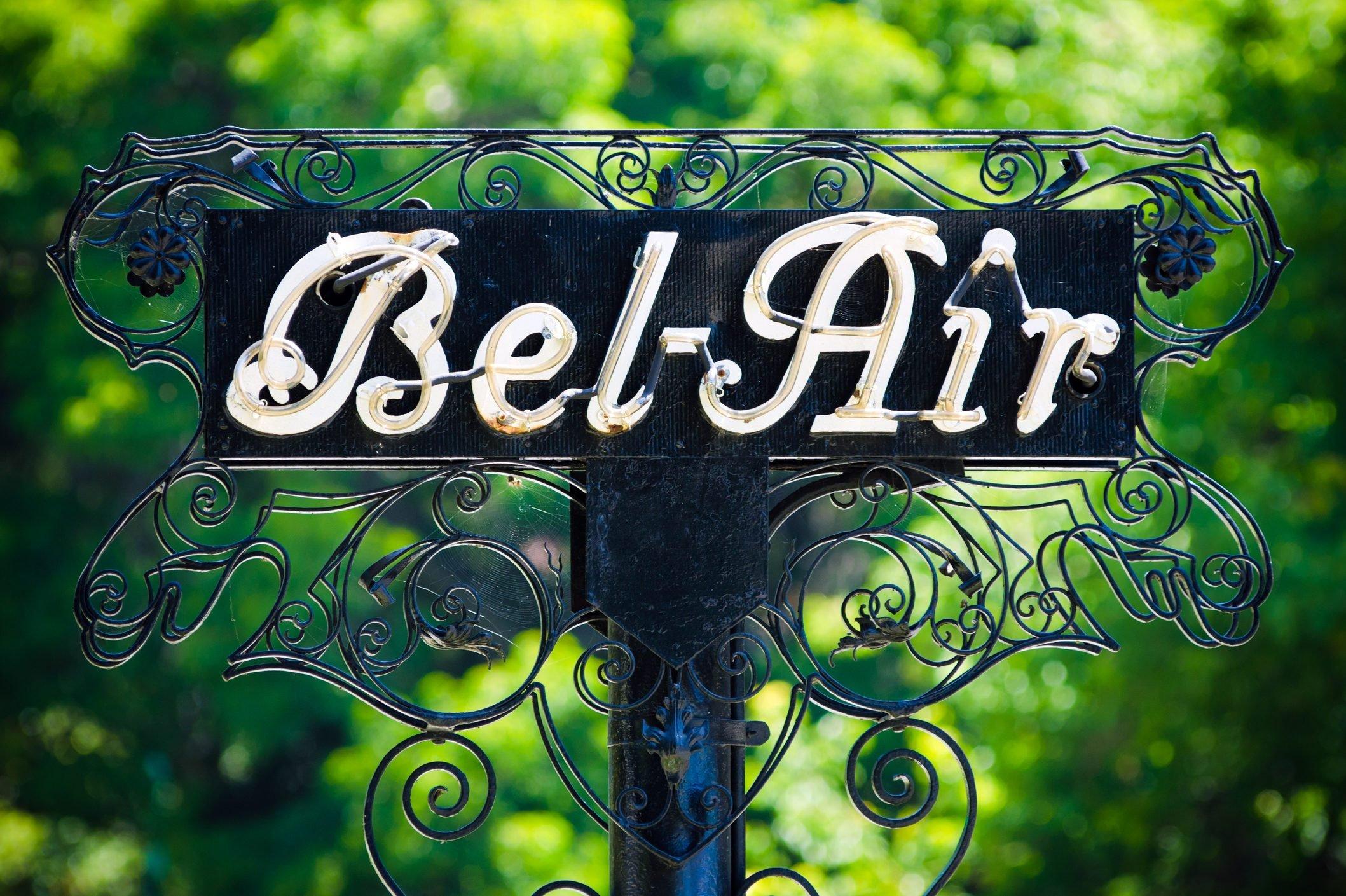 Bel-Air sign in Los Angeles, CA