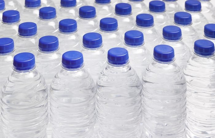 PRODUCTION LINE OF DRINKING WATER BOTTLES