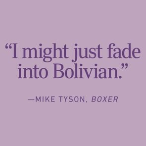 Mike Tyson Malapropism Example text