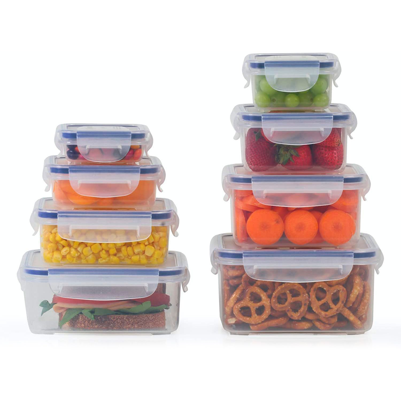 Popit 8 Plastic Container Set Food Saver Set