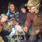 A Dog Was Trapped in a Cave for 30 Hours. It Took 8 Cavers to Find Him.