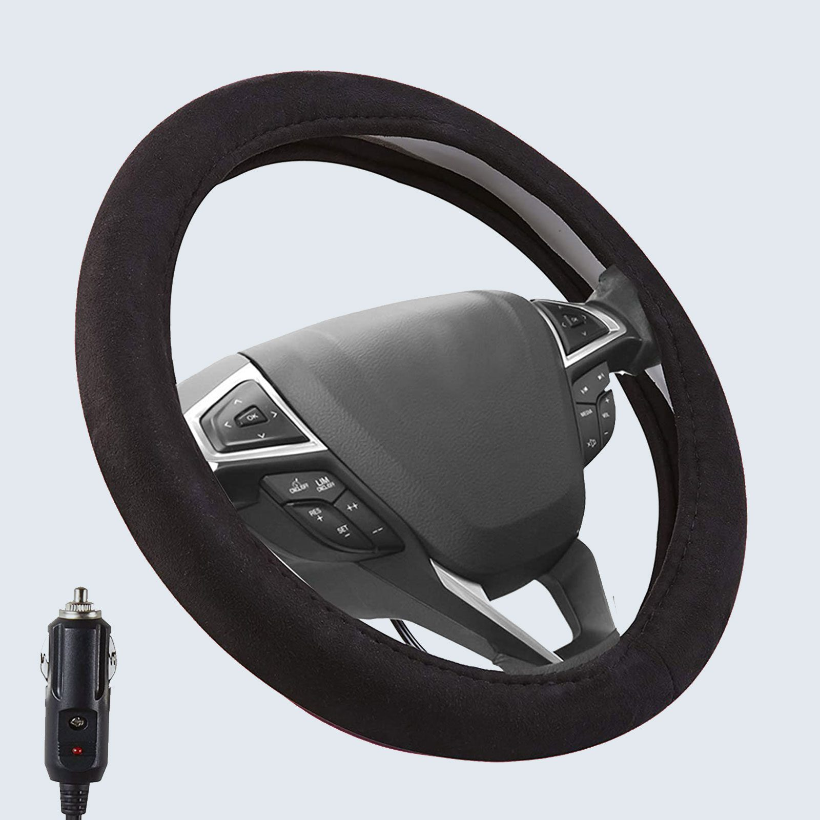 Small Ant Heated Steering Wheel Cover