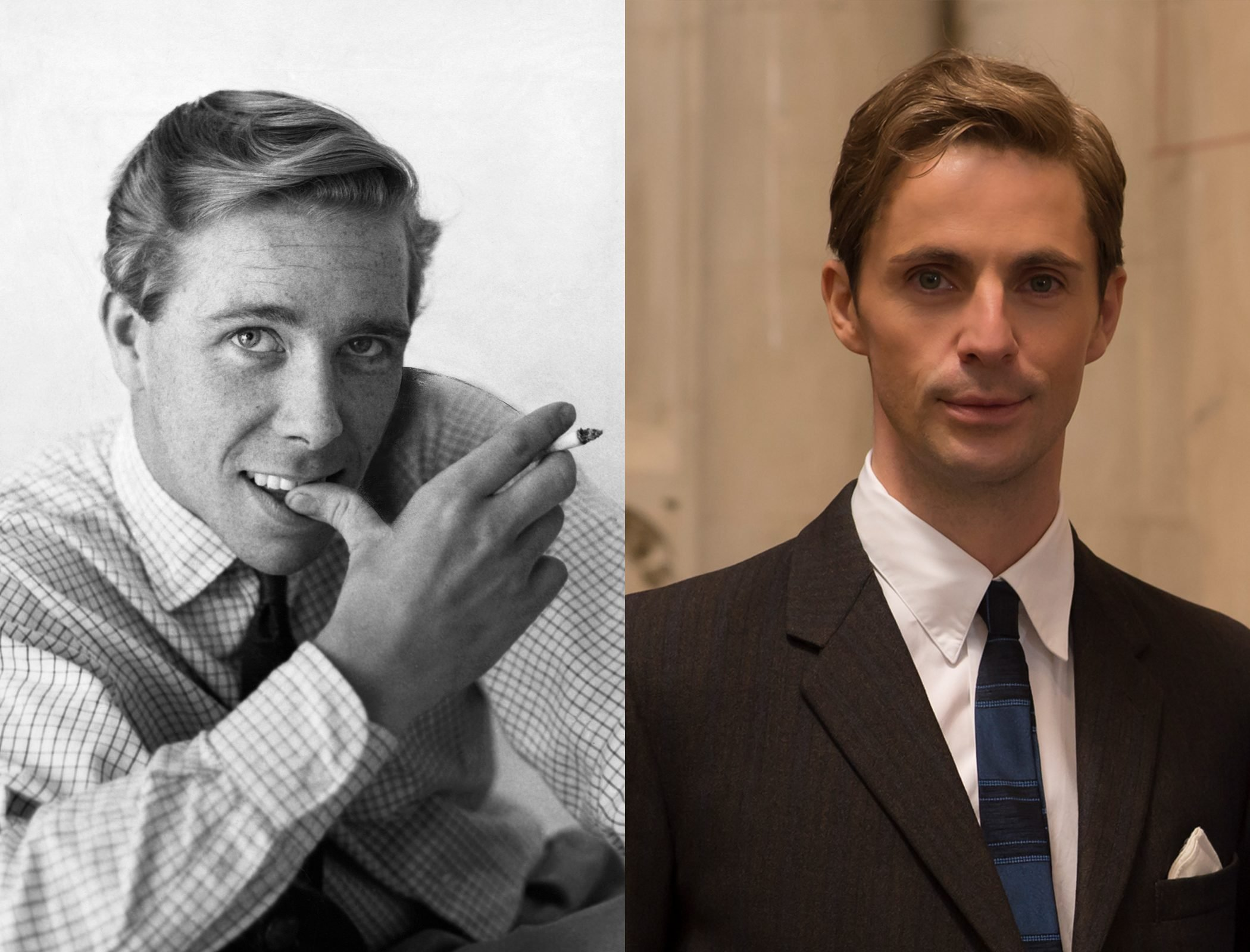 Antony Armstrong-Jones, as played by Matthew Goode