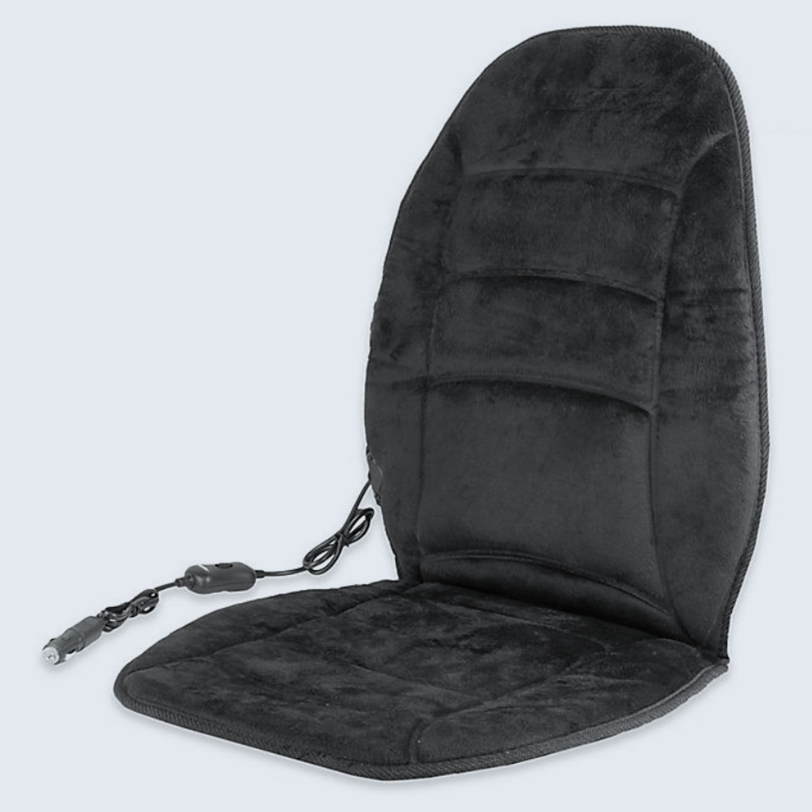 Wagan Deluxe Velour Heated Seat Cushion