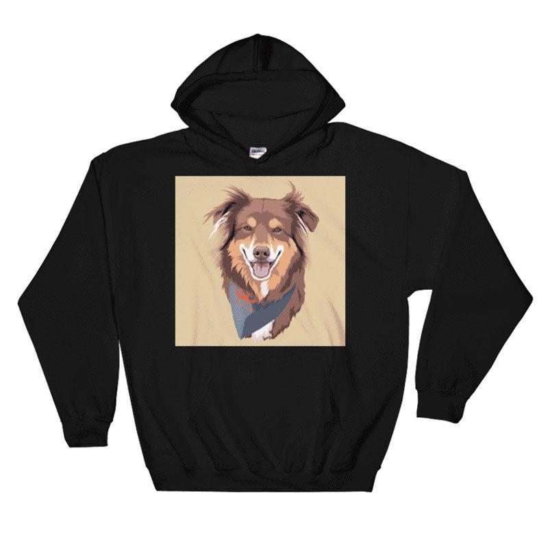Custom Pet Print Hoodie