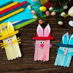 16 Easy Easter Crafts That Kids Can Make with Stuff Around the House
