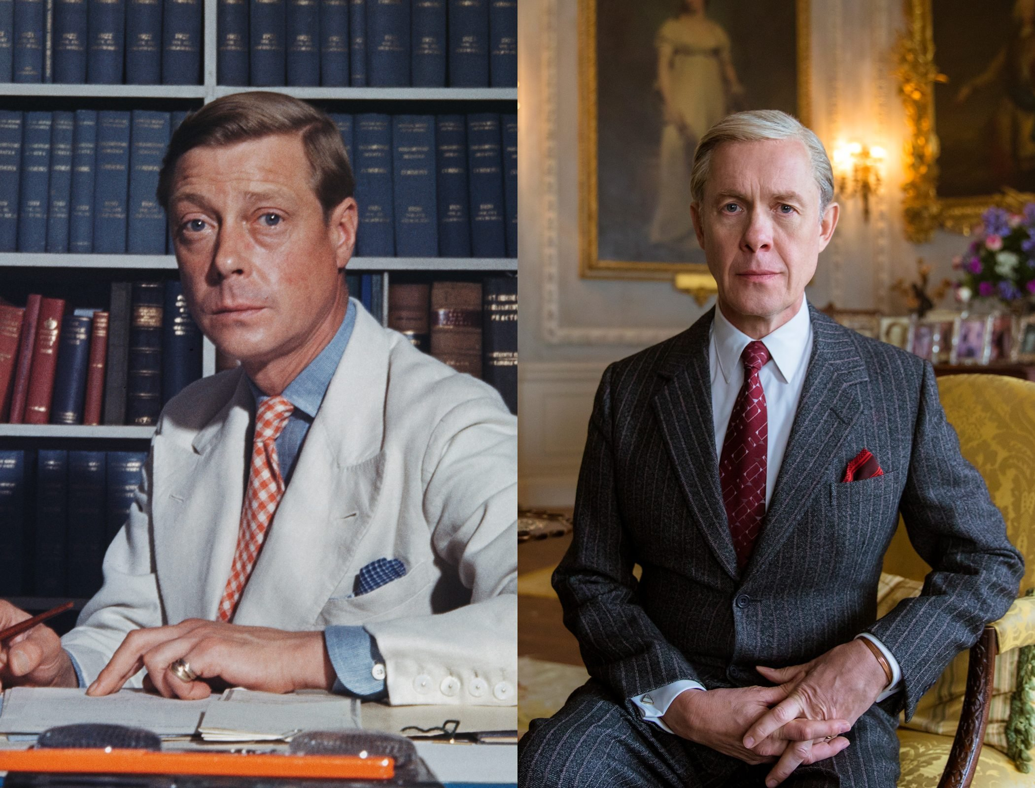 David, Duke of Windsor, the former King Edward VIII, as played by Alex Jennings