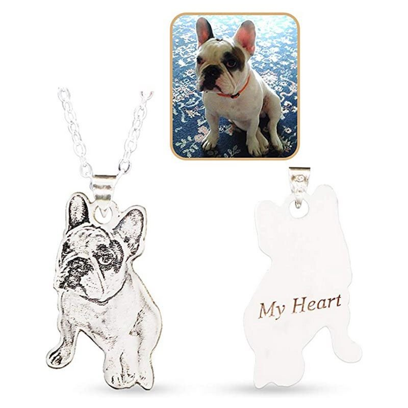 Personalized Pet Photo 925 Sterling Silver Pendant Necklace