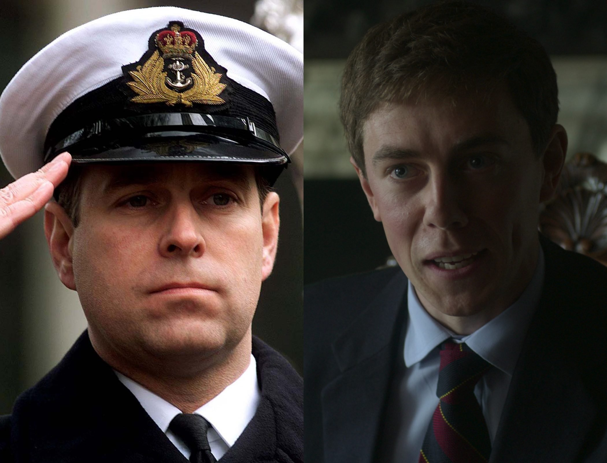 Prince Andrew, Duke of York, as played by Tom Byrne
