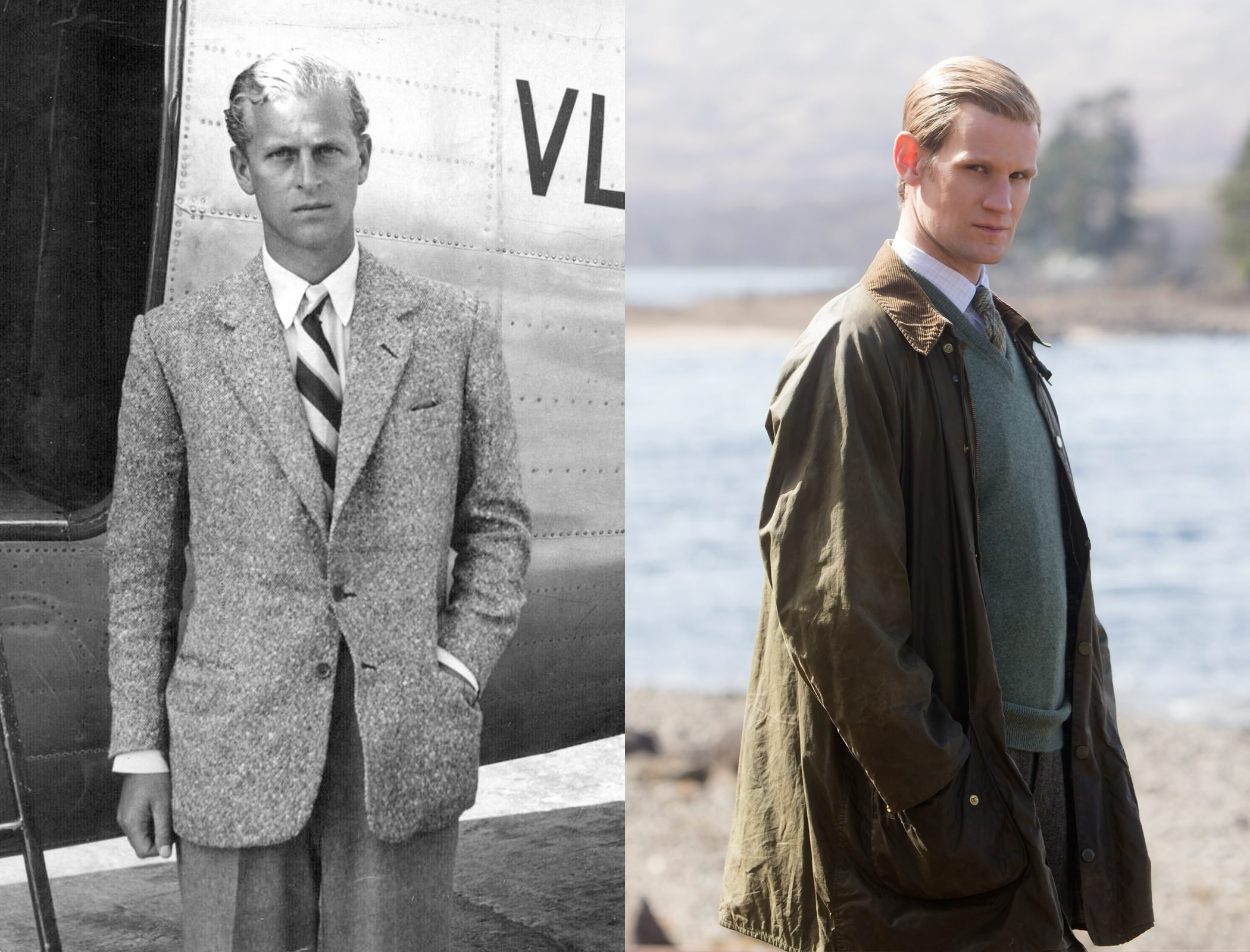 Prince Philip played by Matt Smith