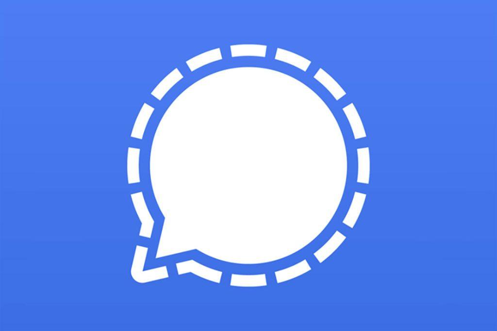 Signal Logo Via Apps.apple.com