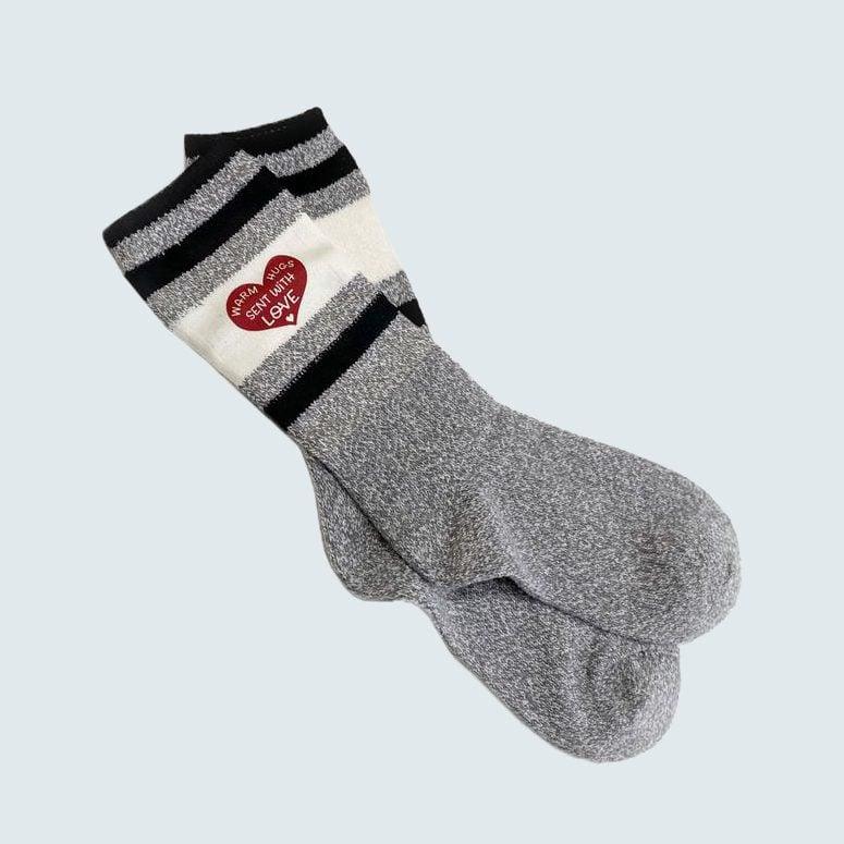 Warm Hugs Sent With Love Socks