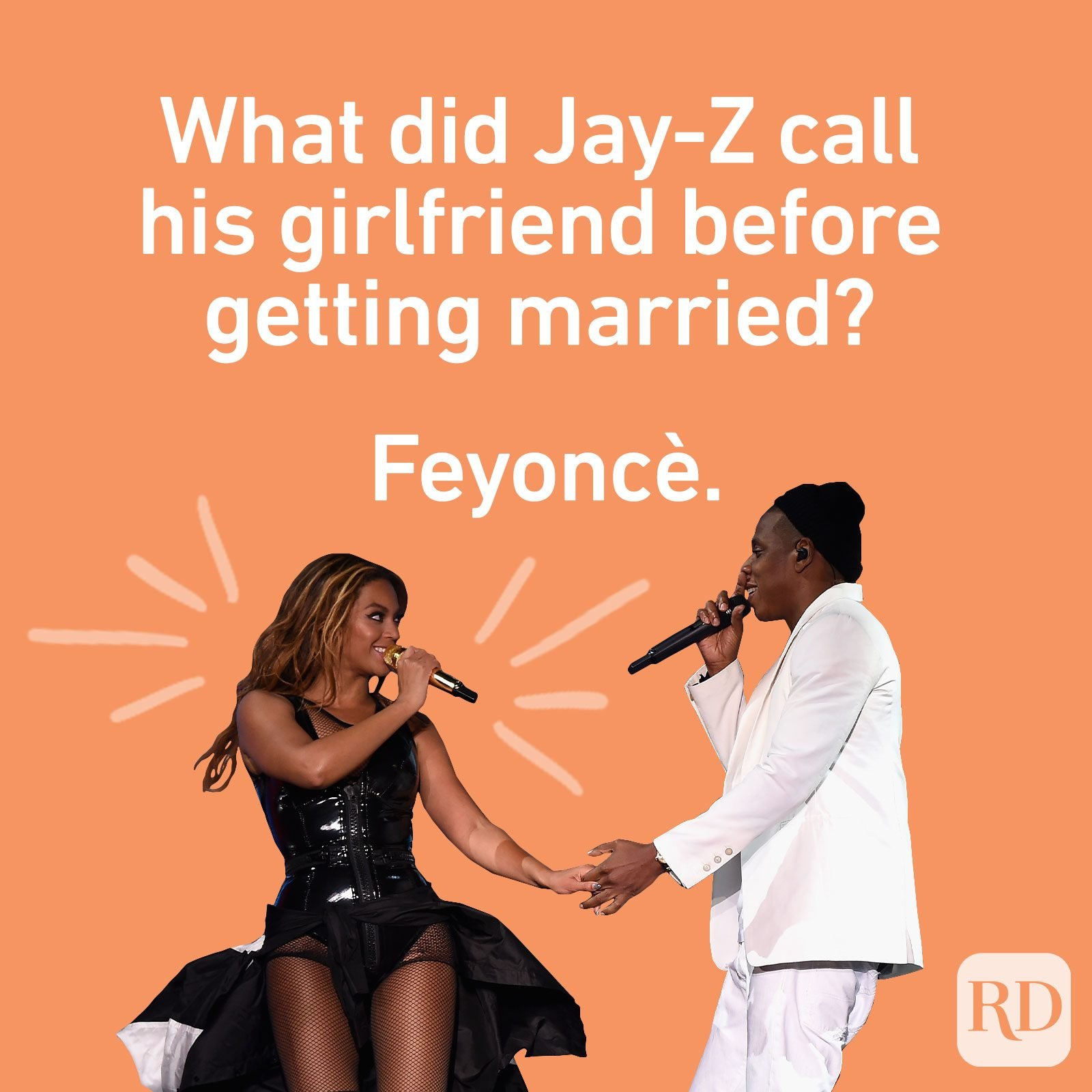 What did Jay-Z call his girlfriend before getting married? Feyoncè.