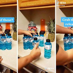 Tiktok Bottle Ring Hack