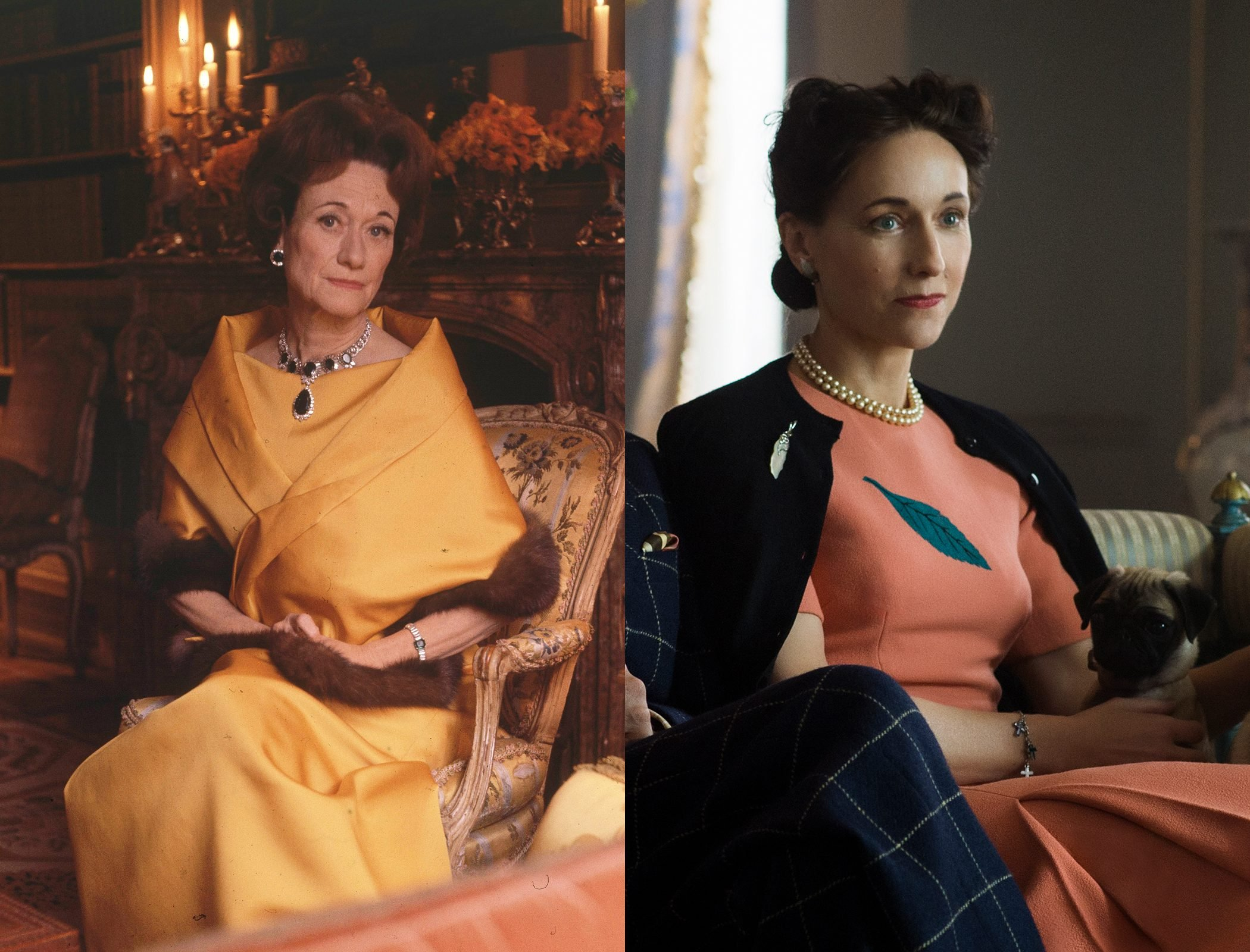 Wallis Simpson, Duchess of Windsor, as played by Lia Williams