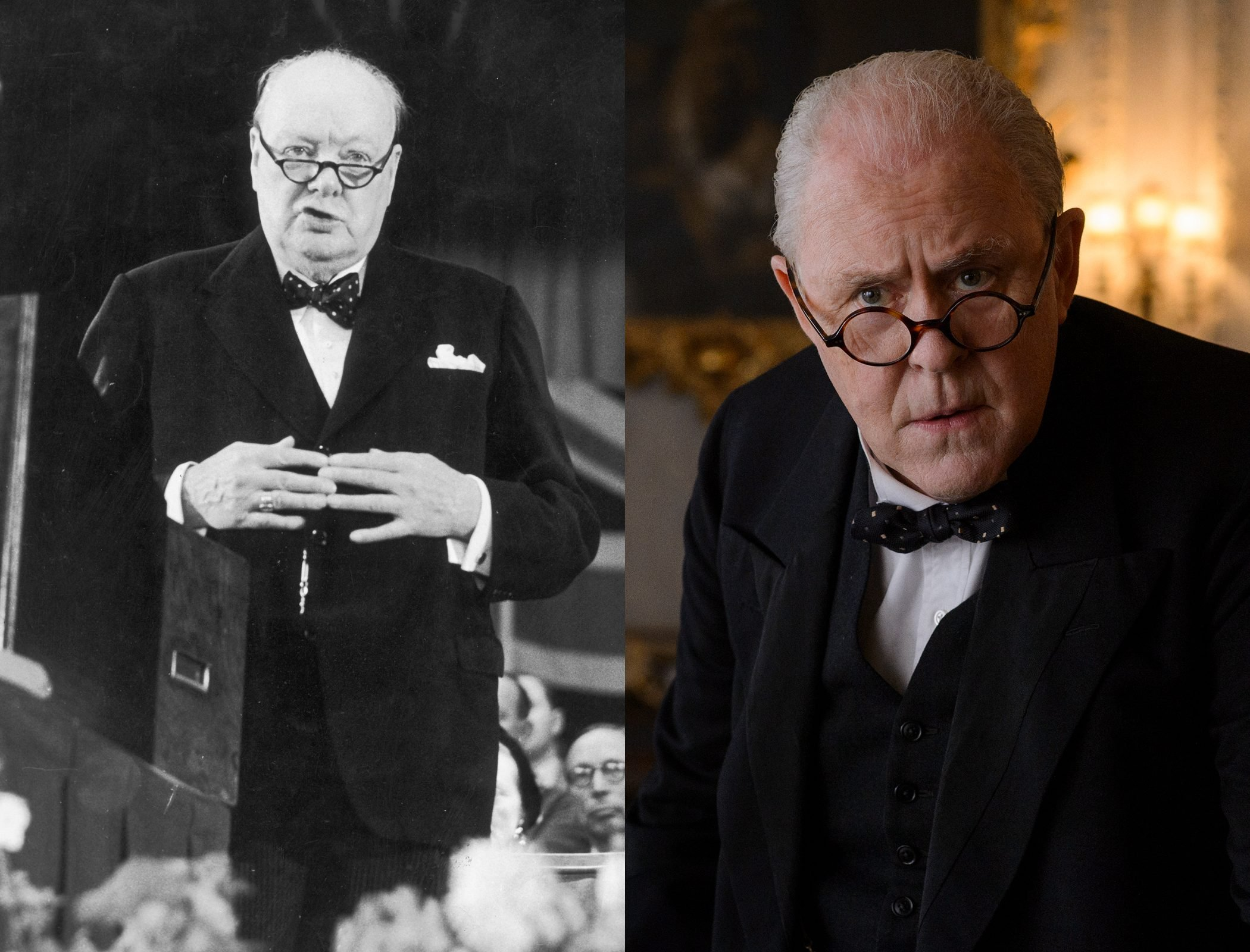 Sir Winston Churchill, as played by John Lithgow