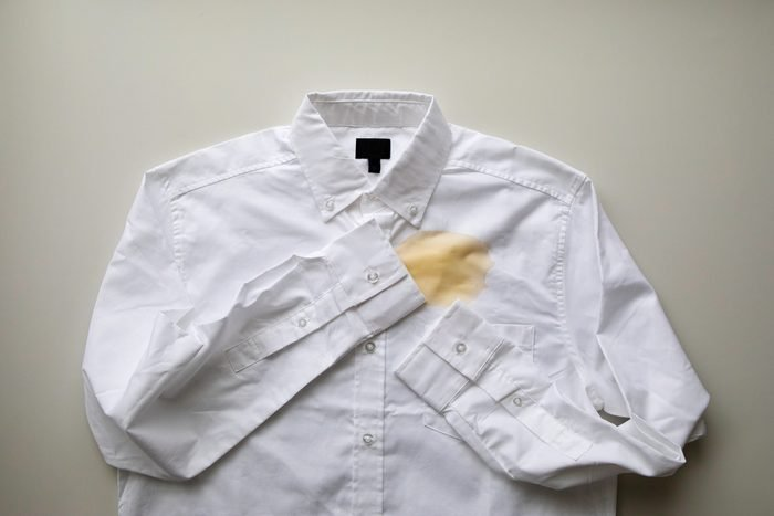 remove coffee stains from clothes