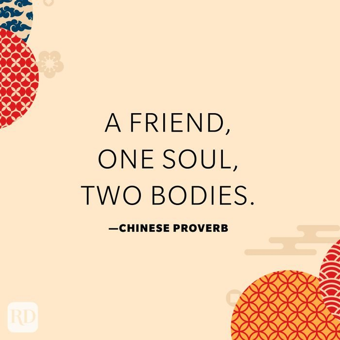 A friend, one soul, two bodies