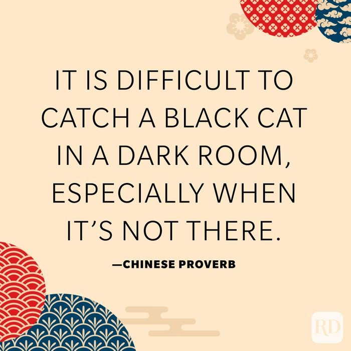 It is difficult to catch a black cat in a dark room, especially when it's not there.