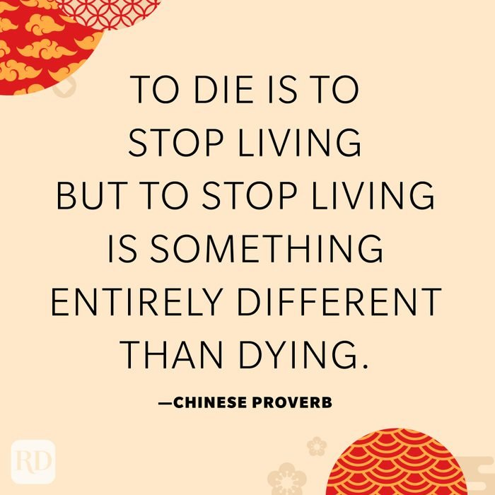 To die is to stop living but to stop living is something entirely different than dying.