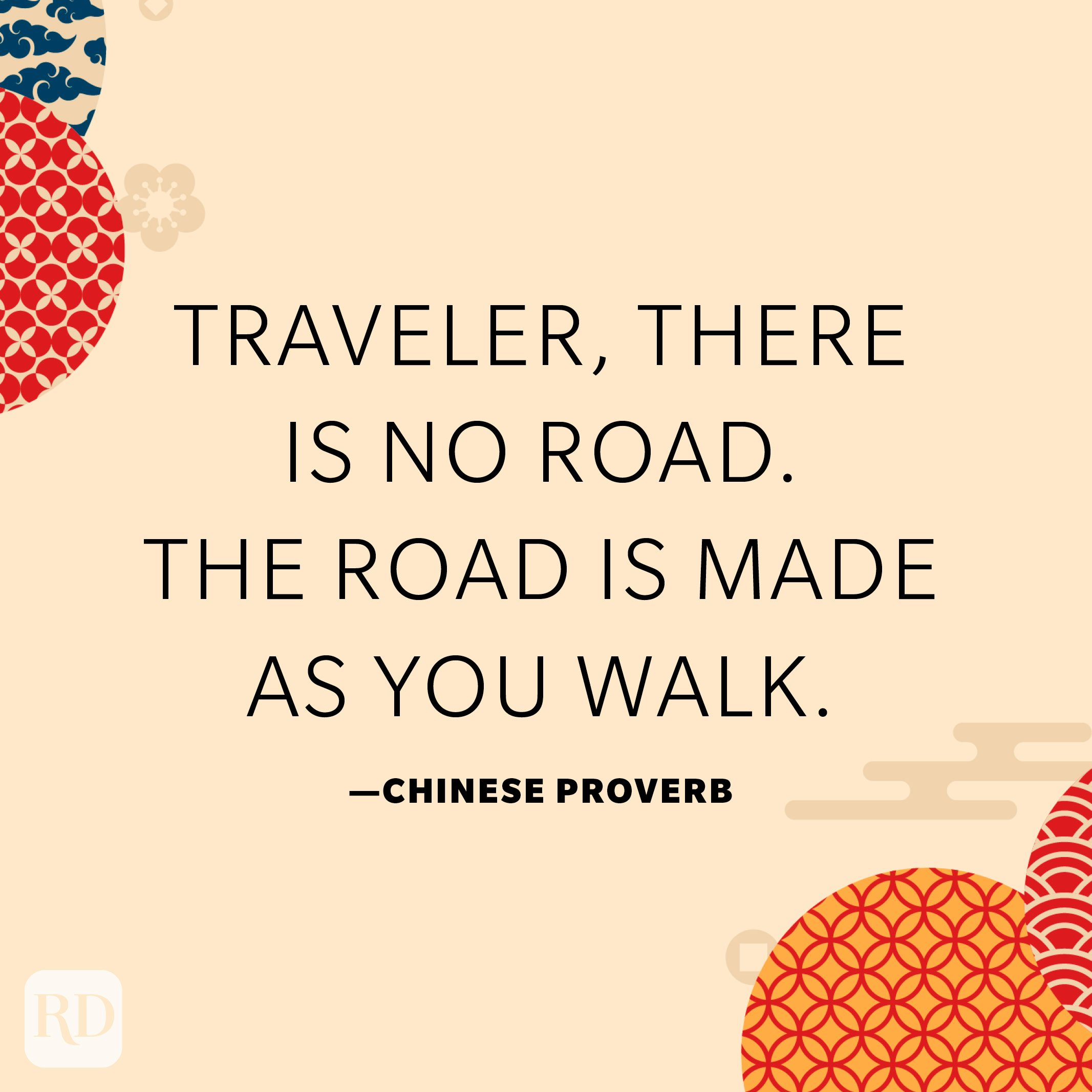 Traveler, there is no road. The road is made as you walk.