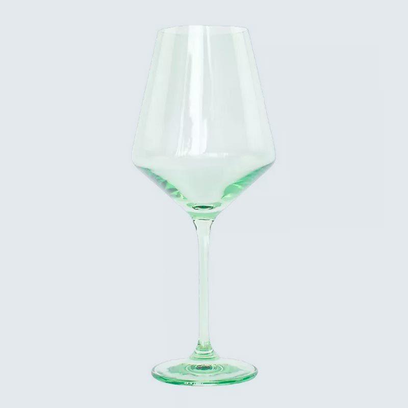 Estelle Colored Glass Wine Glass Set