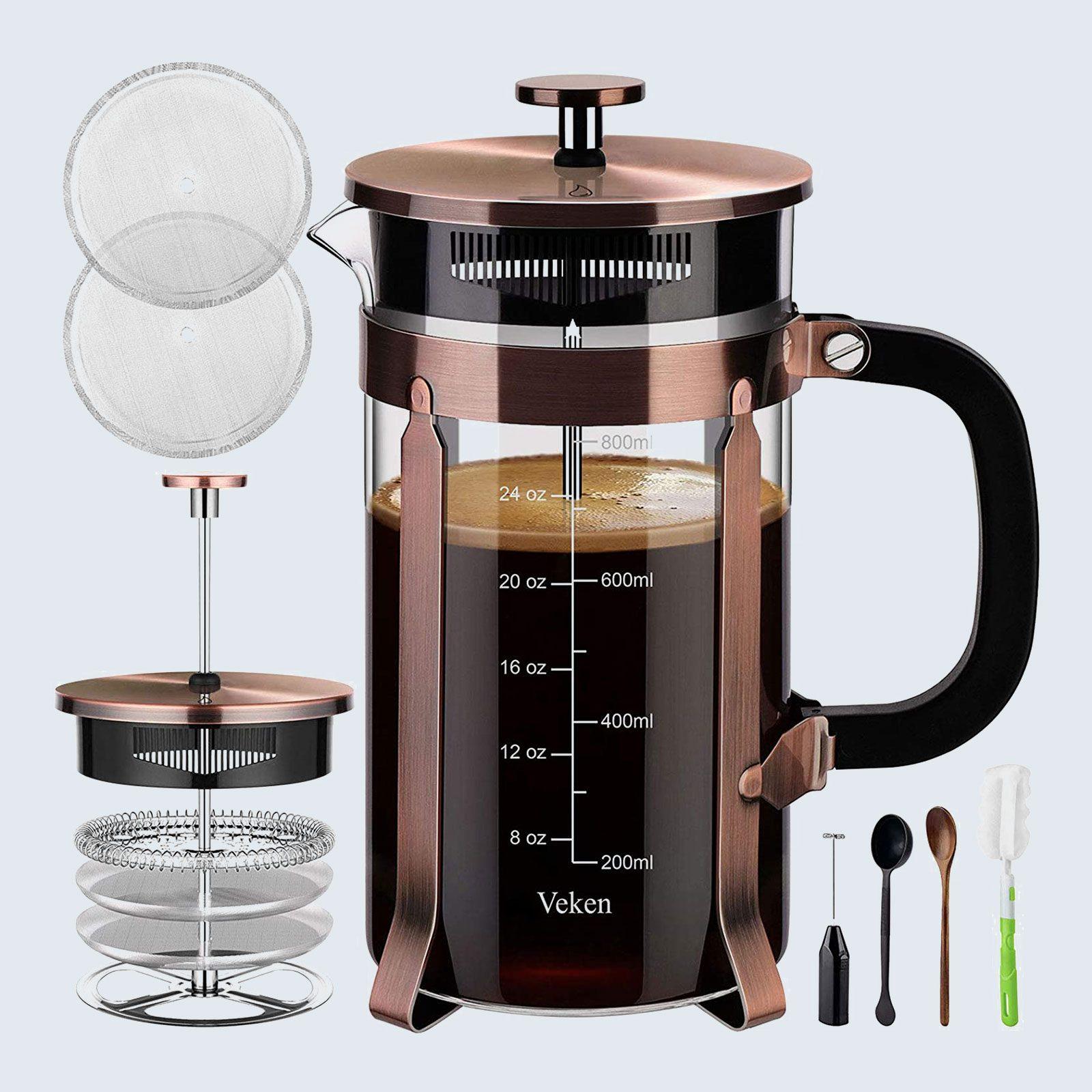 For the java lover: Veken French Press Coffee Maker