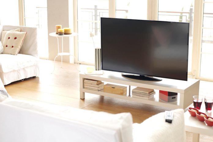 Living room 4k tv