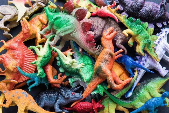 Full Frame Shot Of Animal Toys For Sale At Market