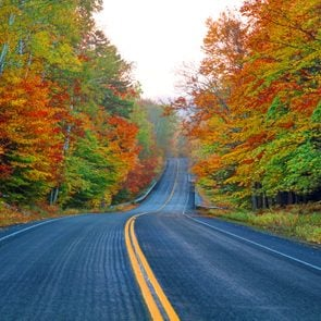 Autumn on the Kancamagus Highway in New Hampshire