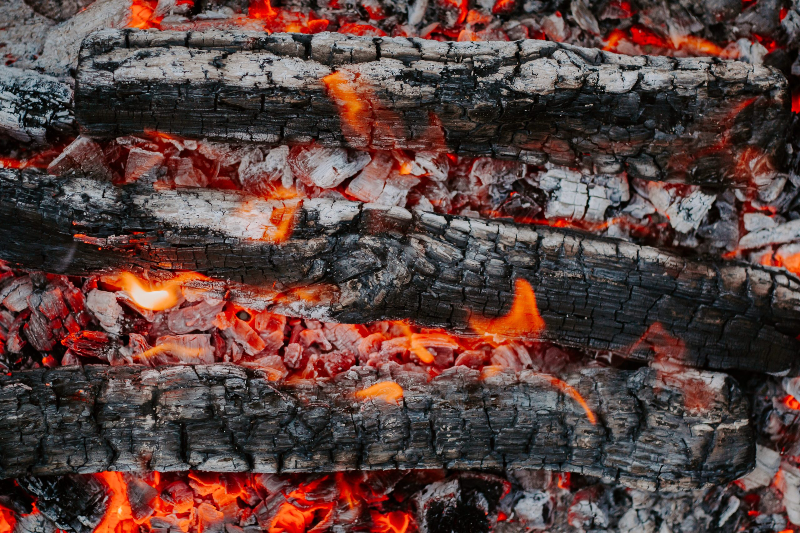 Firewood beautiful background. Flat lay, top view