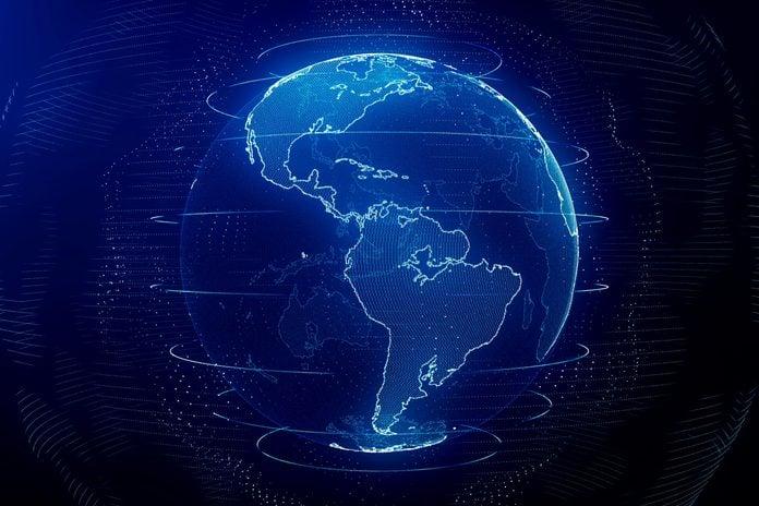 digital model of the earth